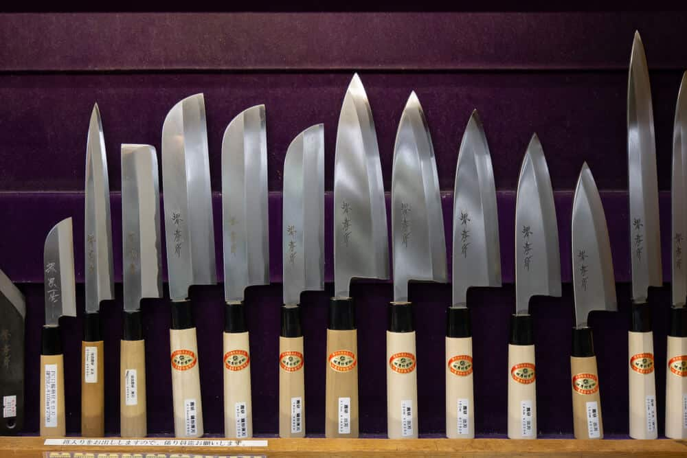 All about Japanese Knives