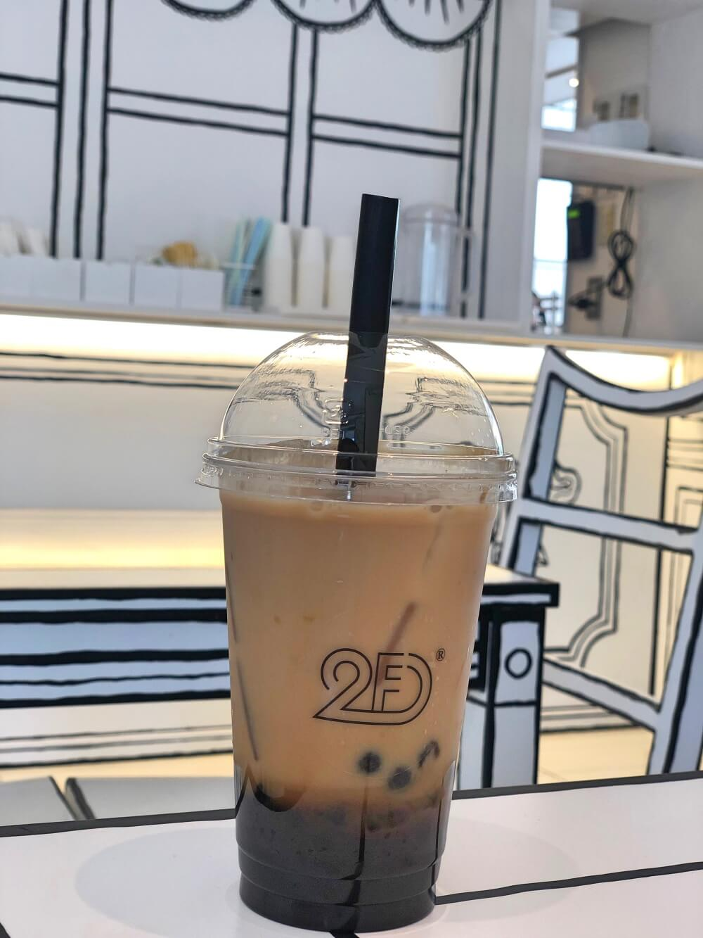 2D Cafe - The Newest Instagramable Tapioca Cafe in Tokyo