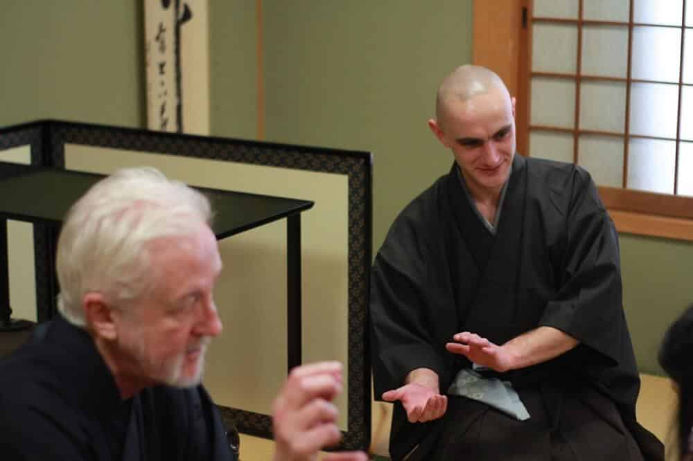 Traditional Japanese Tea Ceremony with a Belgian Tea Master in Kyoto