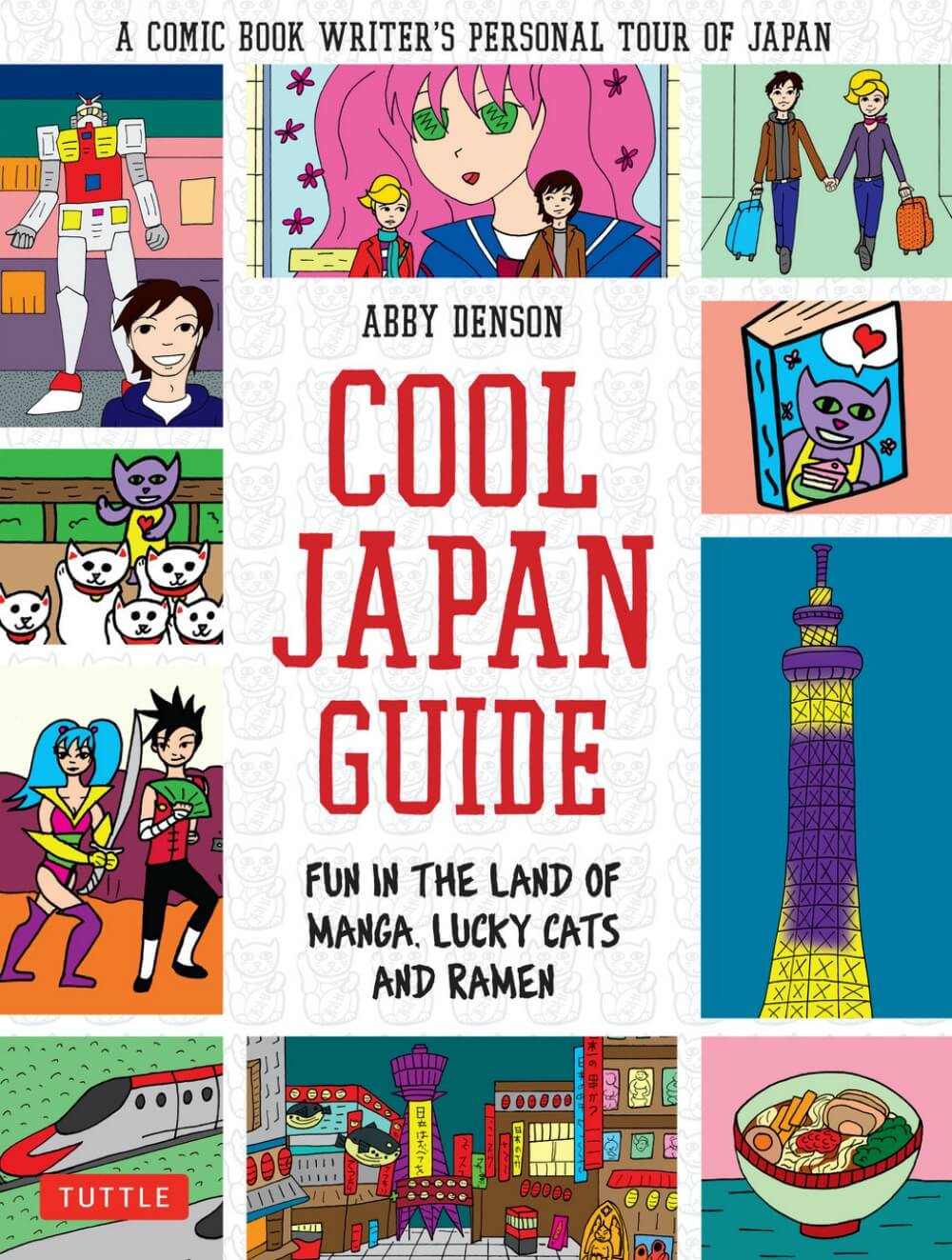 """Let's meet Abby, Author of the """"Cool Tokyo Guide"""
