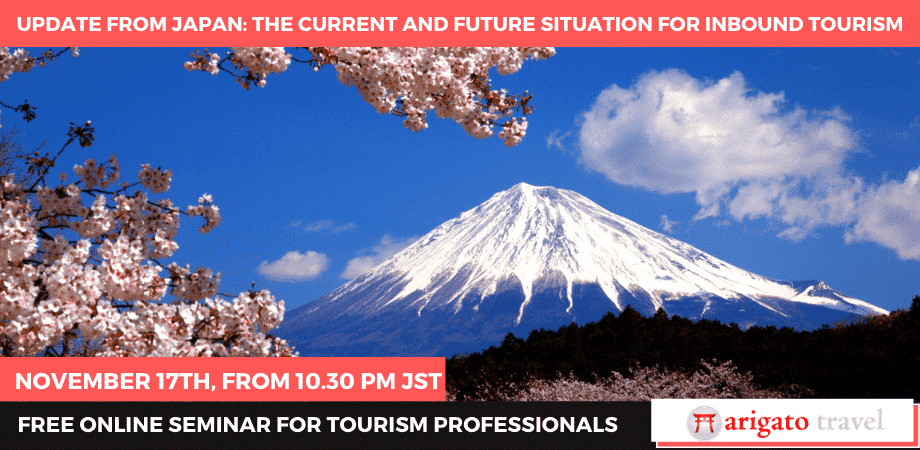 Webinar Updates and the Future of Inbound Travel in Japan