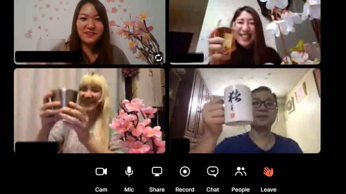 Virtual Hanami Company Events In Japan