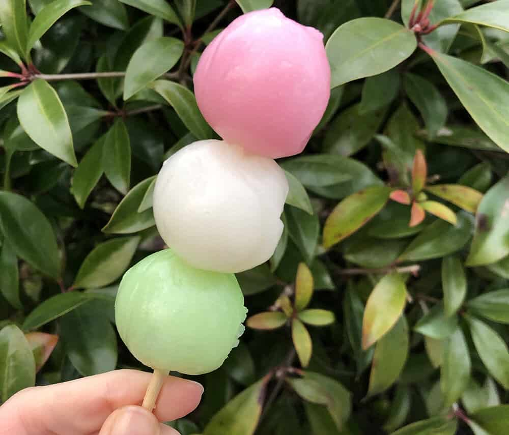 Traditional Japanese Sweets: Spring