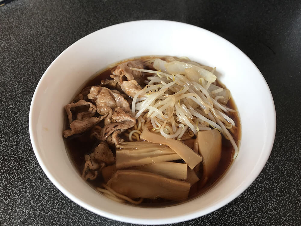 Different Ramen Noodle Soup Flavours