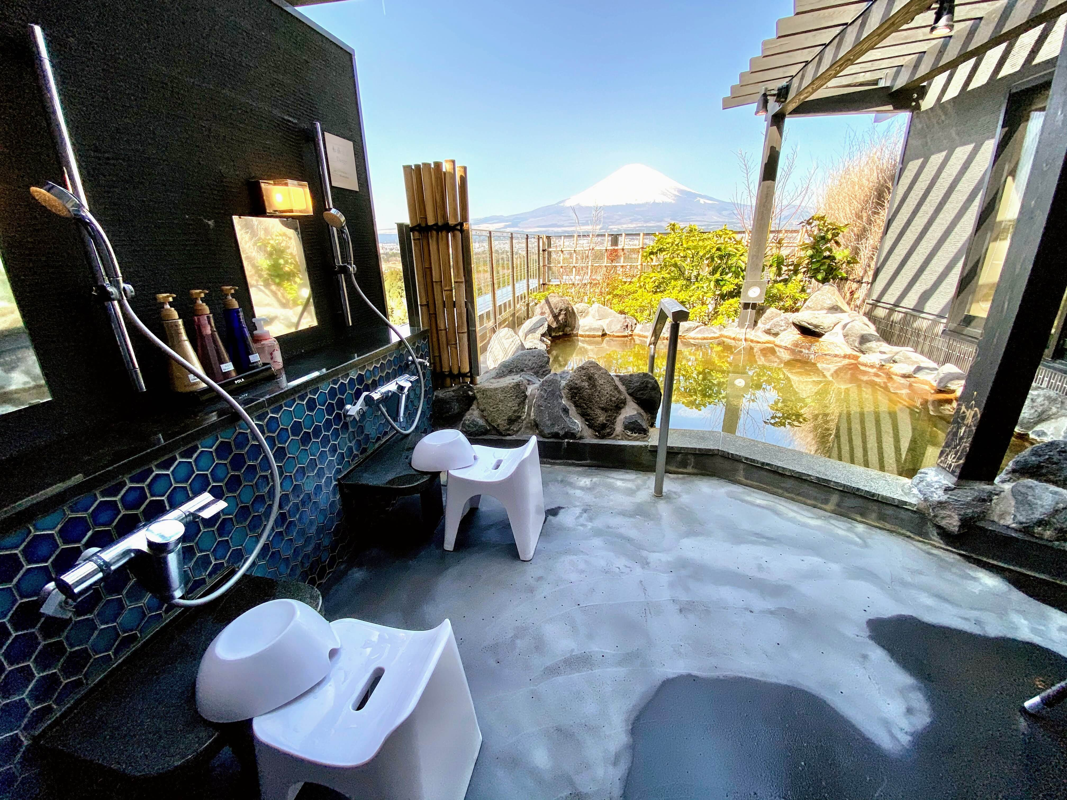 Enjoy Stunning Mt. Fuji Views From Your Private Onsen Bath